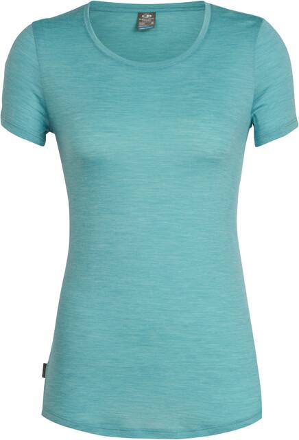 Icebreaker Sphere T shirt Damer, ocean heather